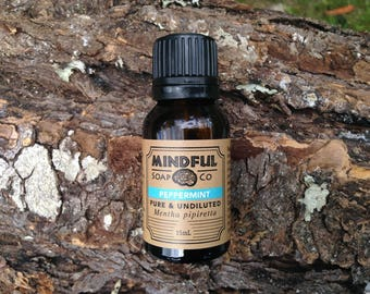 Peppermint Essential Oil; Peppermint Oil; Undiluted Peppermint Essential Oil; Undiluted Peppermint Oil; Pure Peppermint Oil