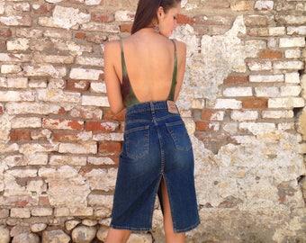 Vintage Levis Denim Skirt