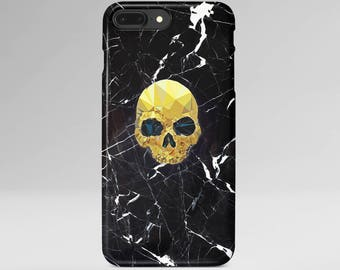 Gold Skull iPhone X Case iPhone 6 Black Marble iPhone 8 Plus Case iPhone SE Case iPhone 6 Plus Case iPhone 7 iPhone 5 Samsung Galaxy Case