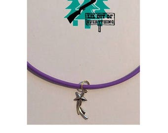 Shooting Star Necklace.