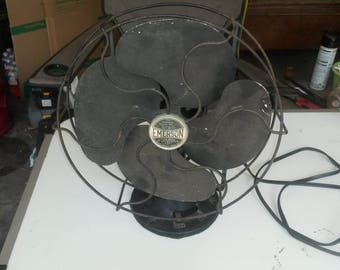 "Vintage Emerson 10"" Electric Fan"