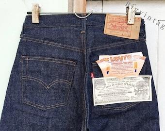 Vintage Levi's 501 Red Line W28 L36 Deadstock