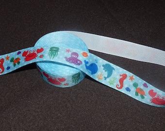 Ribbon coarse sea theme.