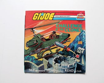 GI Joe Challenge of the Clones Read Along Book 1984