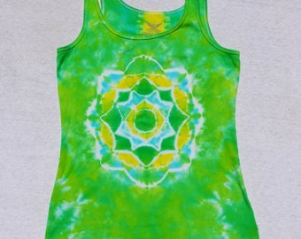Green Mandala Tank