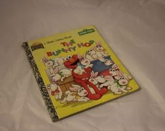 Little Golden Book The Bunny Hop featuring Sesame Street