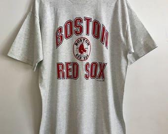 Boston Red Sox Shirt, Boston Red Sox, Red Sox Shirt, Vintage Red Sox, Baseball Shirt, Vintage Baseball