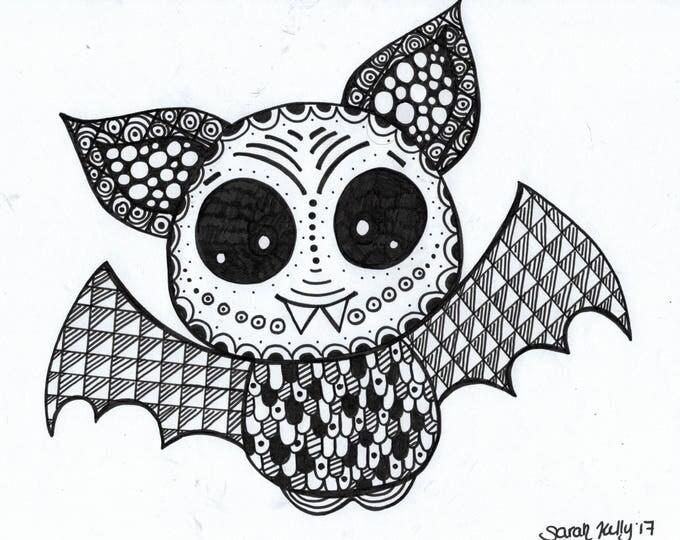 Bat Drawing