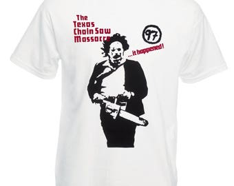 The Texas Chainsaw Massacre T-shirt - As Worn By Sid Vicious, All Sizes