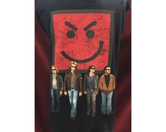 Custom Distressed Bon Jovi Tshirt