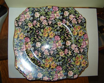 Royal Winton Nantwich chintz plate Grimwades