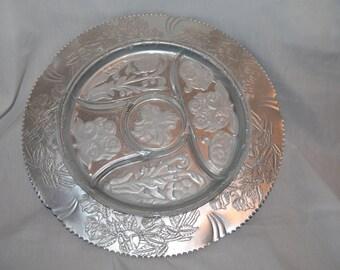 Embossed Aluminum Condiment Tray