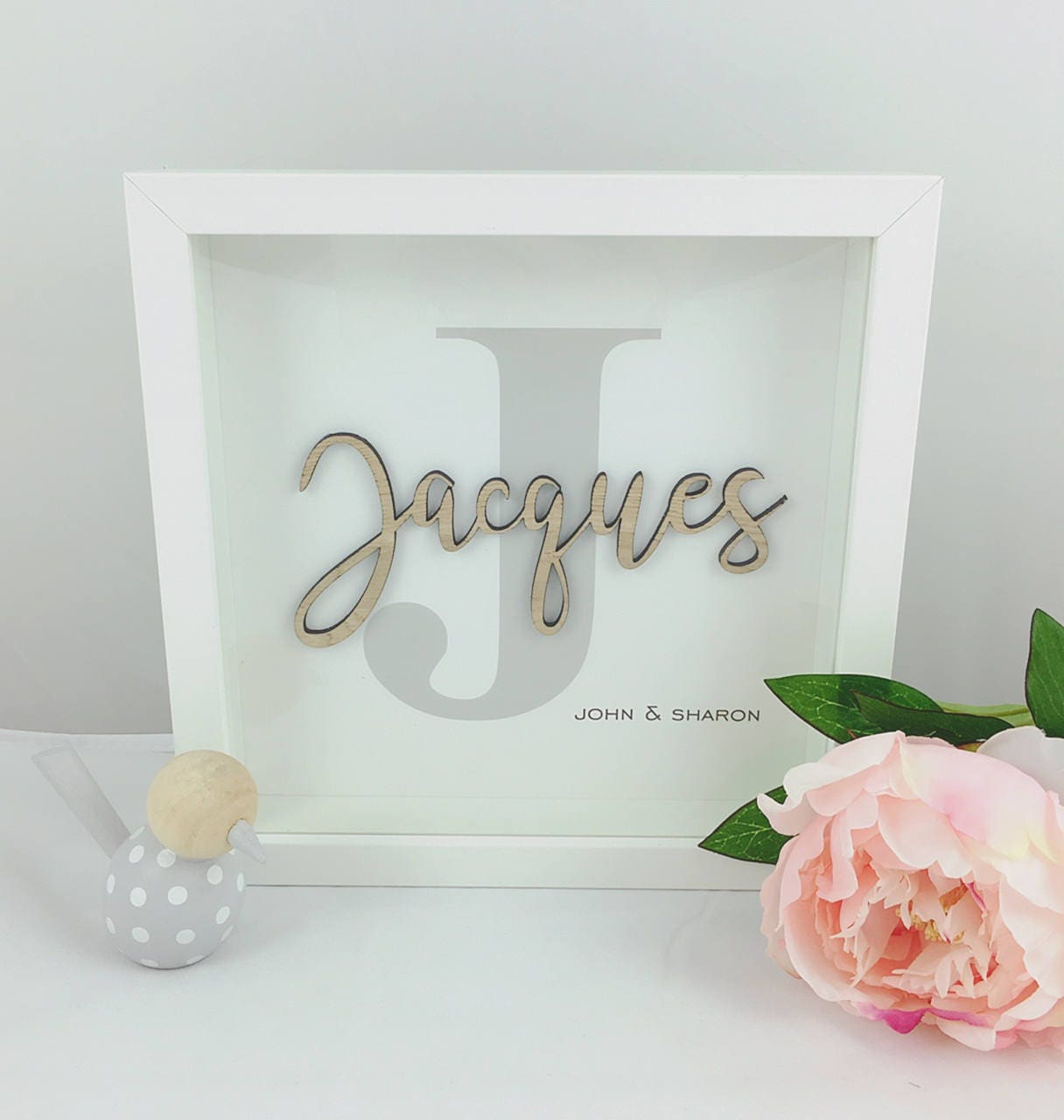 personalised wedding frame personalised wedding gift mr and mrs frame surname frame - Mr And Mrs Frame