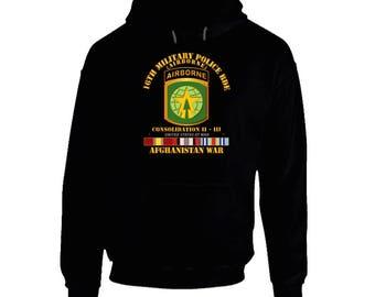 Army - 16th Mp Bde - Afghanistan War W Svc Hoodie