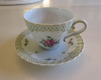 WEST GERMANY KAISER Demitasse Cup and Saucer Set