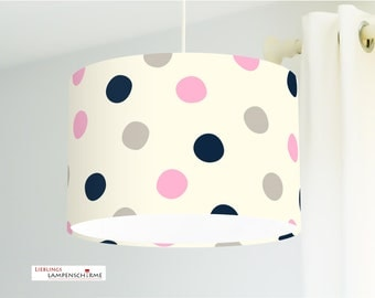 Lampshade - points - color and size on request