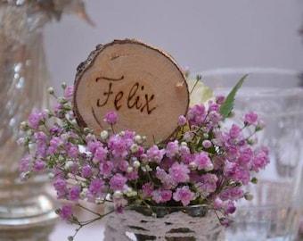 Name tag wedding table card 20 x.