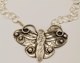 Sold - Available for Special OrderButterfly Flurrie Sterling Silver