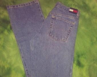 Vintage women's Tommy Hilfiger jeans size 28 inch waist 32 inch inseam