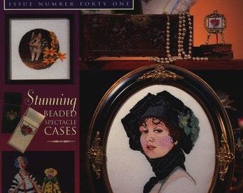 Jill Oxton's Cross Stitch 41 1999 - PDF ebook - Cross Stitch ebook - Beading Patterns - Instant download - pdf file
