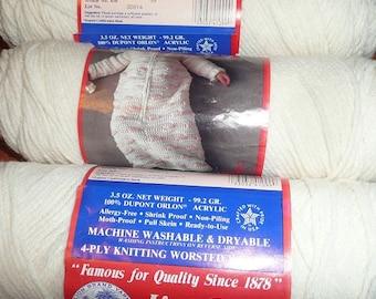Lion Brand Sayelle Eggshell Yarn Skeins