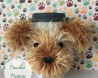 Crocheting Patterns - Crochet Pattern - Amigurumi Dog - Crochet Pattern Dog - Crochet Dog Pattern - Dog Crochet Pattern - Mug Cozy Pattern