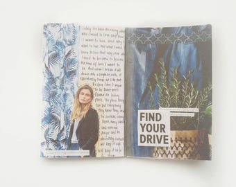Art Journal Zine - Finding