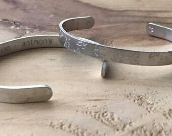 Word bracelet customized silver bracelet custom silver bracelet name bracelet silver mom best friend bracelet bracelet word custom cuff
