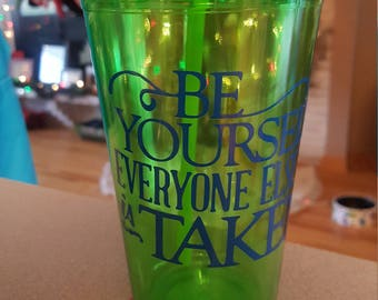 Be yourself Water Tumbler