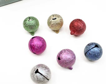 1pc 2.5cm colorful round bell/ Mini bell/ Christmas bell