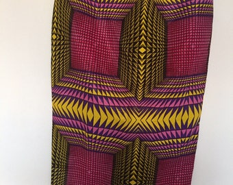 Stunning ethnic wax pencil skirt