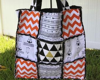 Southwest Rag Bag/ Tote