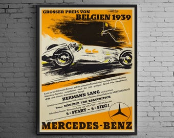 Mercedes Benz 1939 Belgian Grand Prix