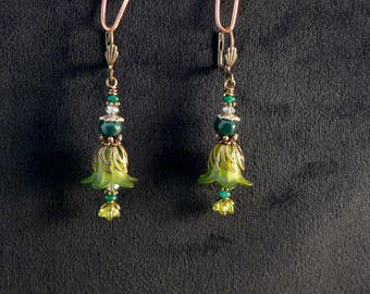 Forest Flower earrings