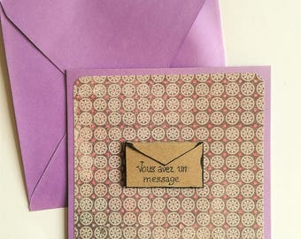 Original card you have a message