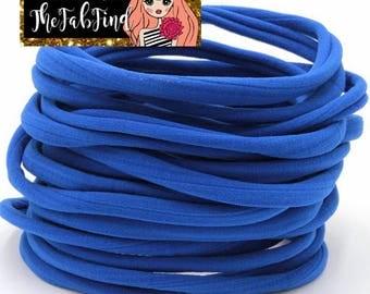 Royal Blue Nylon Headband | One Size Headband | THIN Soft Nylon Headband for baby and adults| Premium Infant & Baby Headbands | BULK