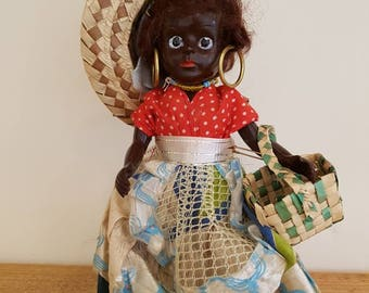 Vintage doll - antique doll - Stunning little doll looking for a new home