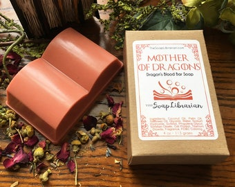 Mother of Dragons Bar Soap - Reader Gift, Book Nerd - Natural Soap