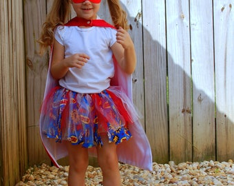 Superhero Tutu, Superhero, Tutu, Super hero, Toddler Tutu, Costume, Little Girl Tutu, Girl Superhero, Super Hero Toddler Girl, Youth Tutu
