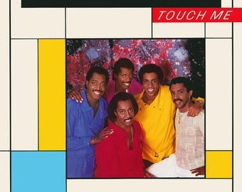 """The Temptations - """"Touch Me"""" vinyl"""