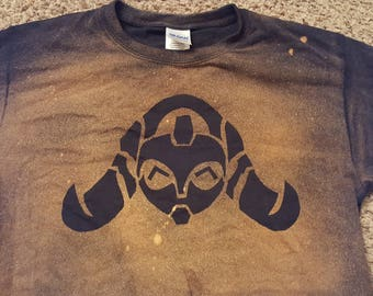 Happy Orisa from Overwatch Bleached Shirt