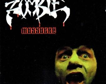 Zombie Massacre Reproduction Amiga CD32 Game.