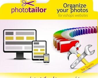 Organize Your Photos |  eshop Support, | website Customization Help | Brochures, Listings