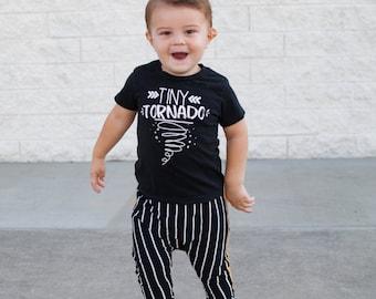 Tiny Tornado Shirt - Mini Hurricane Shirts - Messy Shirts - Trendy Toddler Tee - Toddler Tornado Tee - Unisex Kids' Tees - Kids Gifts