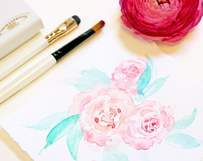 Wedding Invitation Illustration Request | Custom Wedding Art | Watercolor Painting | Watercolor Invitation | Design Reservation