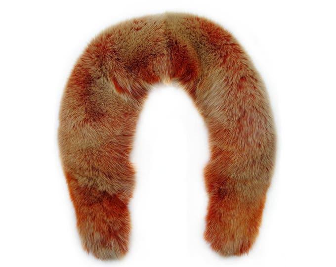 Large Orange Fox Collar F696