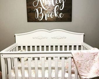 Custom Name Sign // Nursery Sign // Baby Name Sign // Inspirational Sign // Wood Sign // Farmhouse Sign // Rustic Sign // Farmhouse Decor