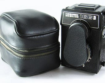 LUBITEL 166B Russian Medium Format 6x6 Rollei Copy TLR LOMO Camera excellent