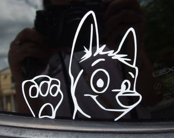 """Dog """"Bolto"""" Decal"""