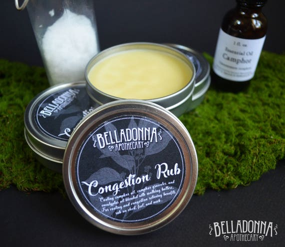 Congestion Rub by Belladonna Apothecary